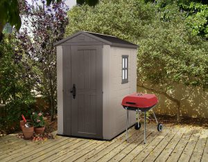Factor 6 x 4 ft Shed