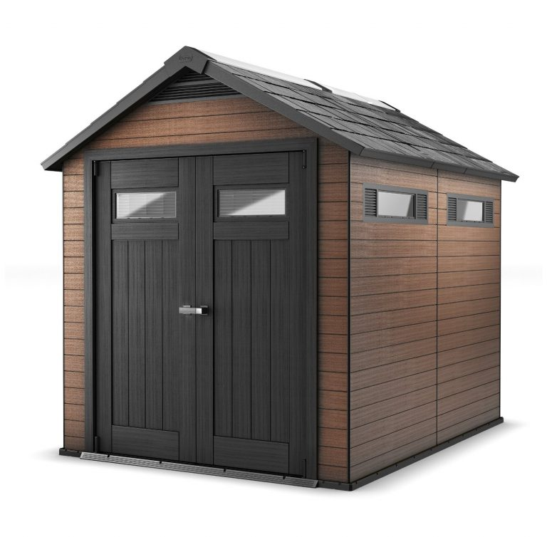 Keter Fusion 7.5 x 9 ft Composite Storage Shed