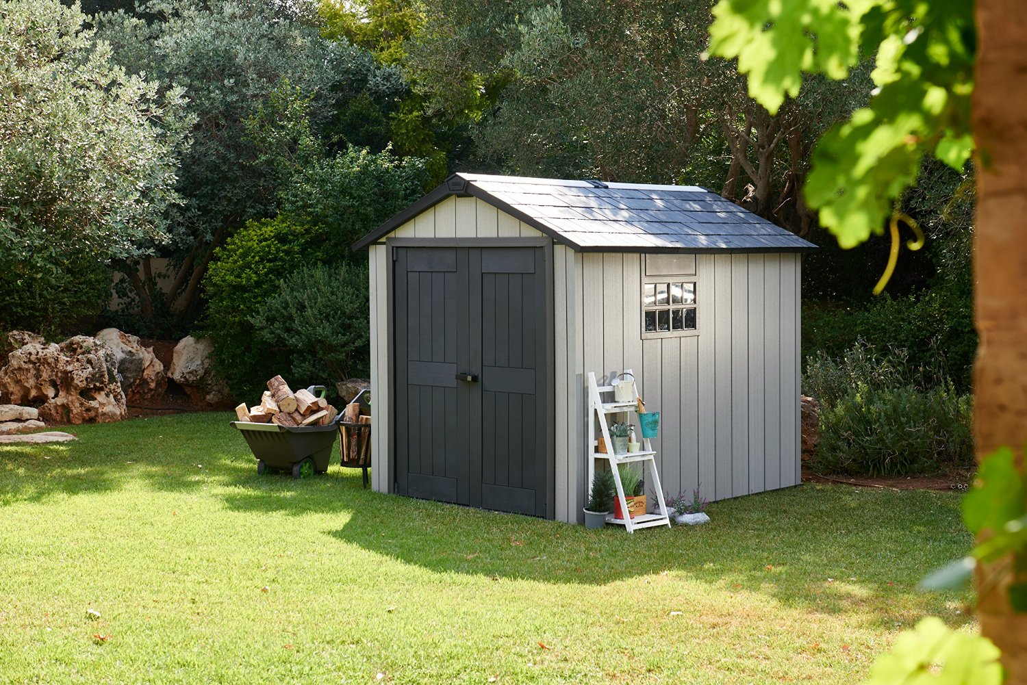 Quality plastic sheds low maintenance storage solutions for Resin storage sheds