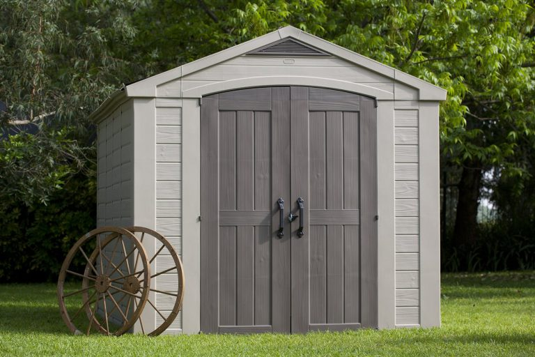 Large Resin Storage Sheds - 8ft x 11ft