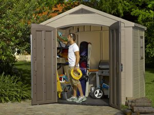 Keter Factor 8 x 6 ft Shed