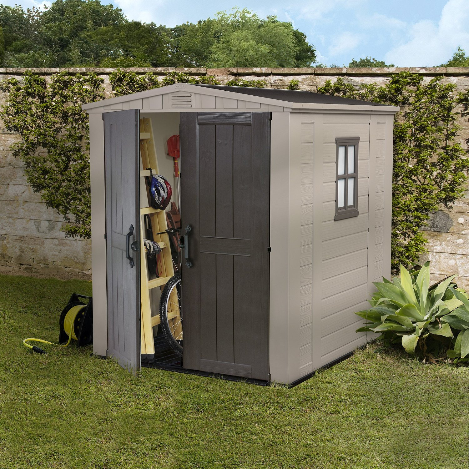 6 x 6 Storage Shed - Quality Plastic Sheds