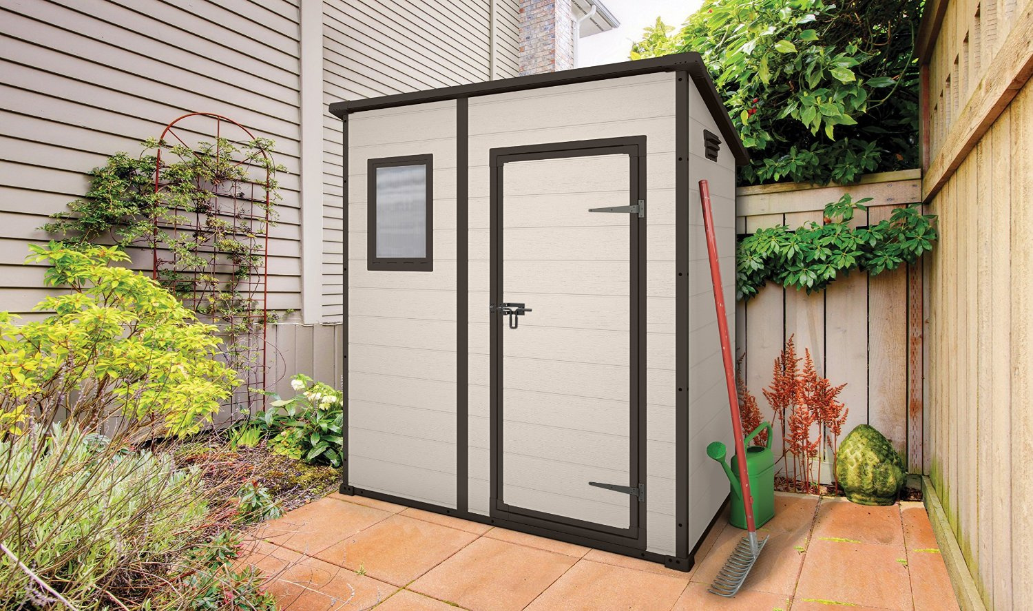 Quality plastic sheds for Garden shed 6x4 sale