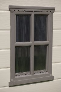 Factor 6 x 6 Shed window