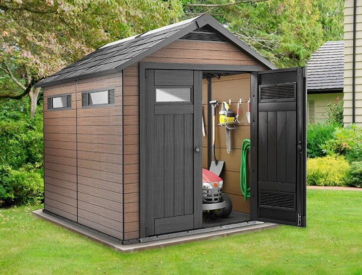 fusion 75 x 9 ft shed