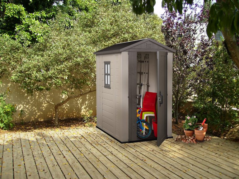 Low Maintenance Backyard Storage Solutions - Factor 4 x 6 ft Shed