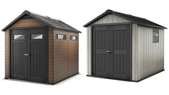 Resin Garden Storage Sheds
