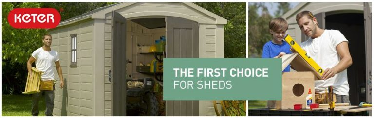 Outdoor Resin Storage Sheds
