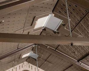 Steel Trusses provide additional support