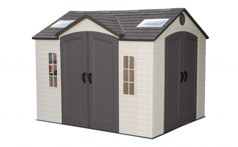 Lifetime Dual Entry Garden Shed