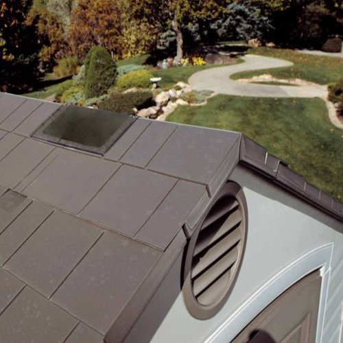Lifetime Polyethylene Resin Roofs