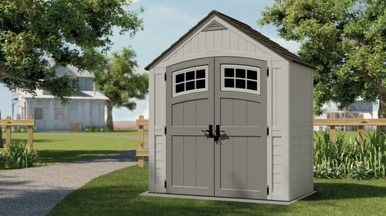 Outside plastic storage sheds quality plastic sheds for Garden shed 7x4