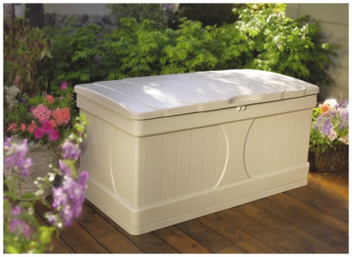 Suncast 99 gallon storage box