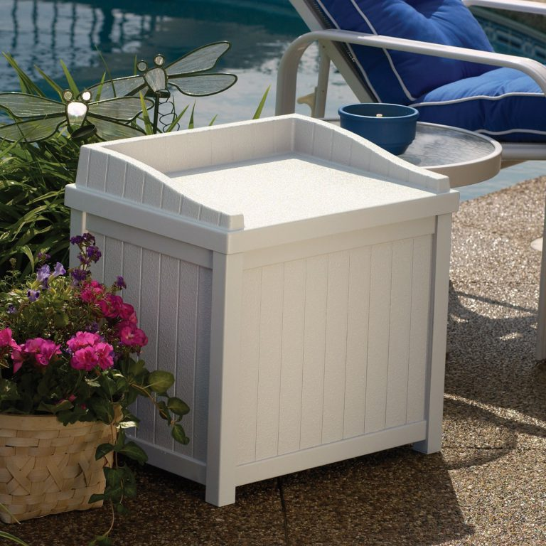 Suncast storage box seat