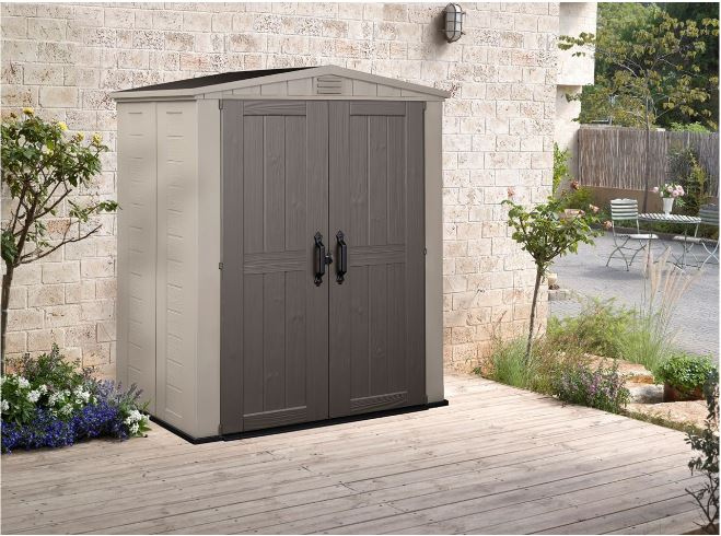 Slim Garden Sheds - Factor 6 x 3 ft