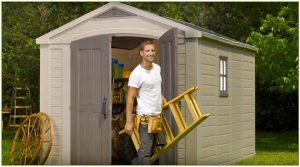 Factor 8 x 11 ft Shed