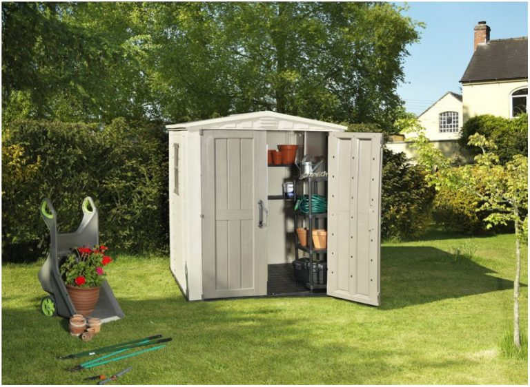 6 x 6 storage shed quality plastic sheds