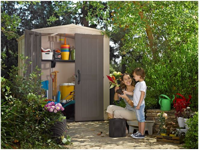 Factor 6 x 6 ft Shed