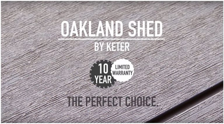 Oakland Sheds Warranty
