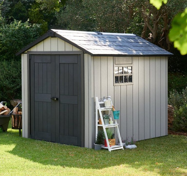 Best rated resin storage shed quality plastic sheds for Resin garden shed