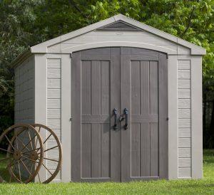 large resin storage sheds