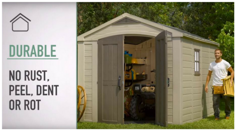 Large Resin Storage Sheds