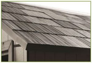 3D Tiled Effect Roof