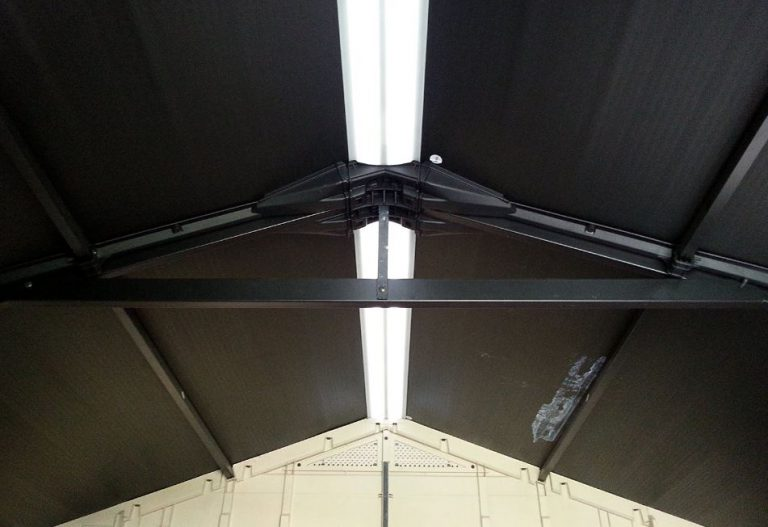 Factor 8x11 Steel Roof Supports