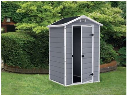 Keter Manor 4x3 Resin Shed