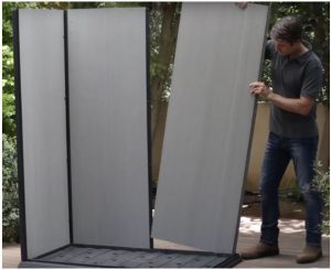 Installing The Walls
