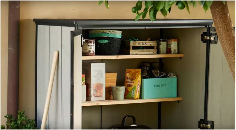 Shelf Supports included for fitting your OWN Shelves