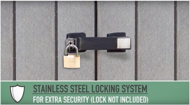 Stainless Steel Locking System