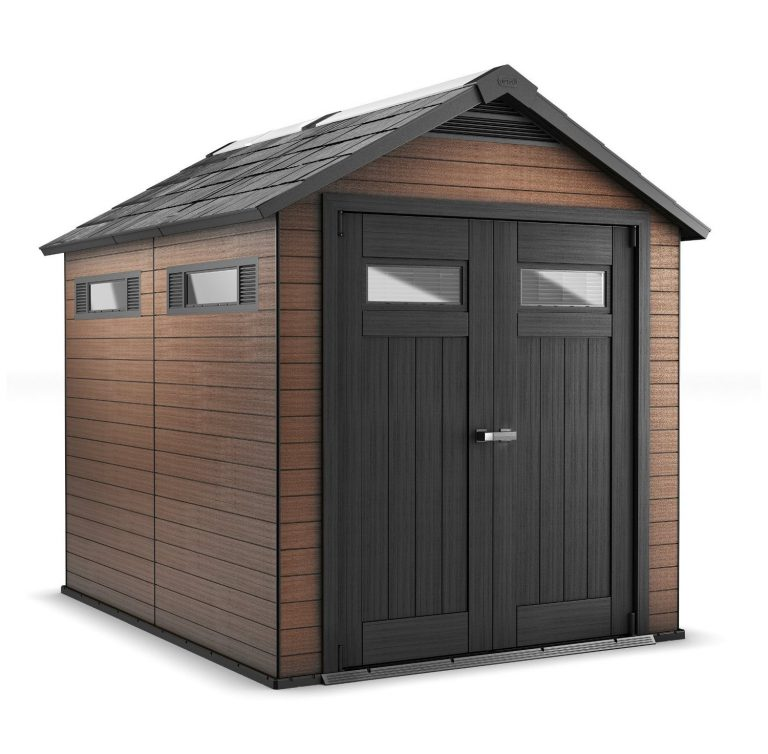 fusion 75 x 9 ft composite shed