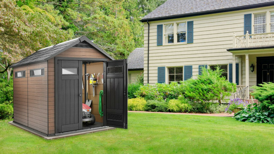 Composite Storage Sheds - Tradition With A Modern Twist
