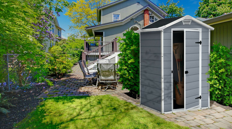 Small Outdoor Storage Sheds - Low Maintenance