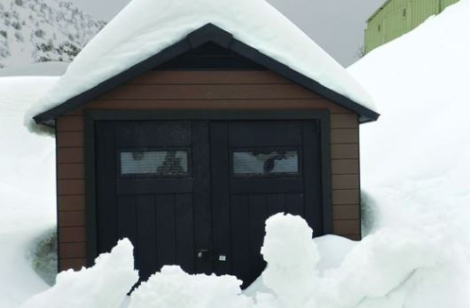 Designed to support heavy snowfall
