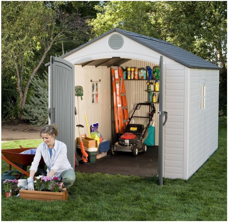 Lifetime 8 x 12.5 ft Shed