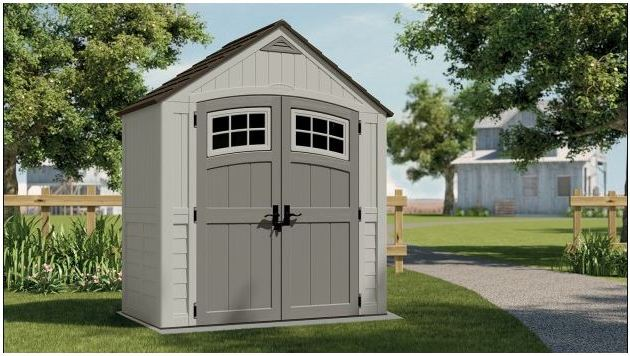 Cascade's 7 x 4 ft Shed
