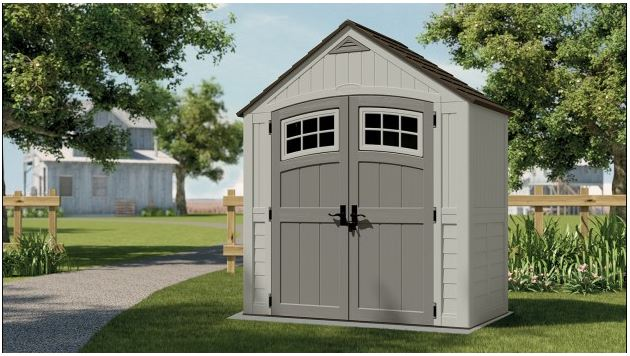Cascade 7 x 4 ft Shed