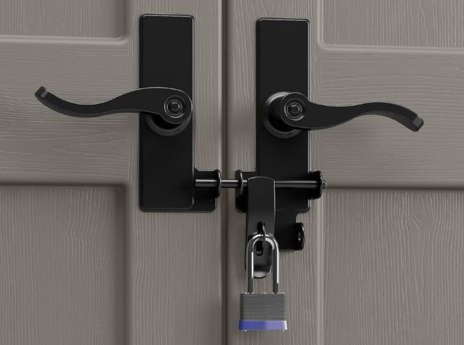 Cascade's Pad-Lockable Doors with Traditional Style Handles