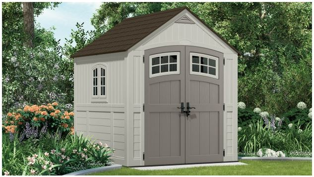 Best Rated Resin Storage Shed - Suncast Shed 7x7