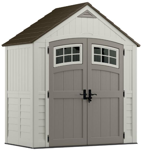 Cascade 7 x 4 ft Low Maintenance Shed