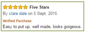 Excellent Reviews