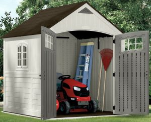 Best Rated Resin Storage Shed Suncast Shed 7 215 7 Quality
