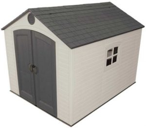 Lifetime's 8 x 10 ft Shed