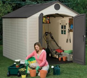 8 x 10 Plastic Shed