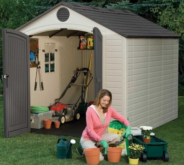 Lifetime 8 x 10 ft Quality Resin Shed