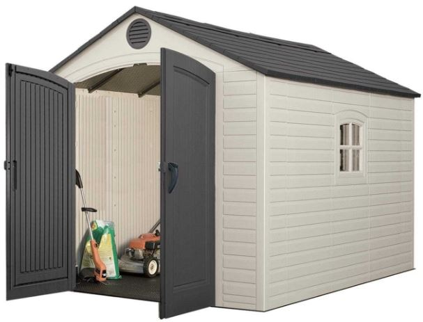 Lifetime 8 x 10 ft Quality Plastic Shed