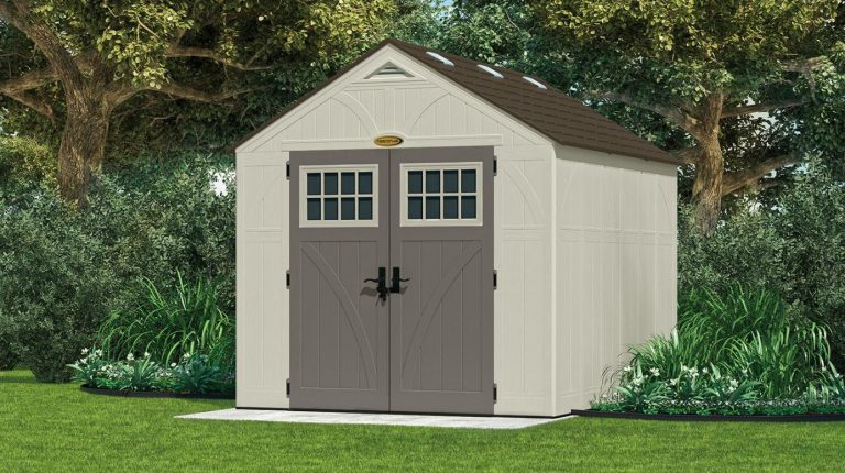 Suncast Tremont 8 x 10 ft Resin Shed