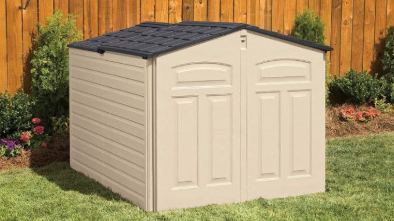 Horizontal Storage Sheds Outdoor - Quality Plastic Sheds